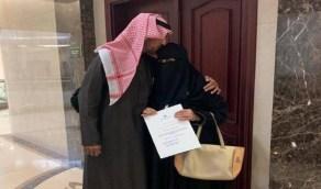 مواطنة تنقطع عن الدراسة 40 عاما ومفاجأة بعد التحاقها بجامعة الإمام عبدالرحمن بن فيصل