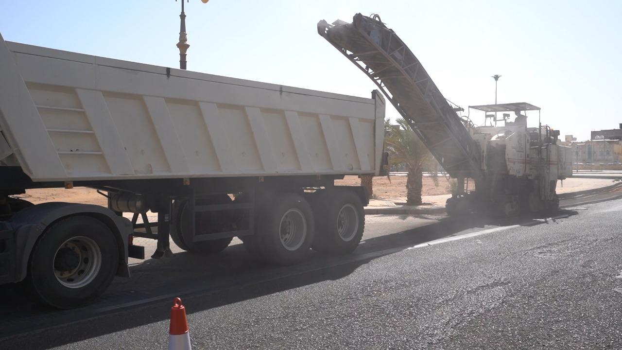أمانة تبوك تزيل أكثر من 188 ألف متر مكعب من مخلفات البناء والهدم وترفع 1312 مركبة تالفة من شوارع المنطقة