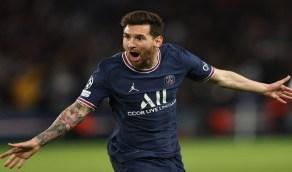 ميسي يسجل أول أهدافه مع باريس سان جيرمان