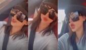 """بالفيديو.. شيلاء سبت تكشف معاناتها مع السباحة: """"شعري احترق"""""""
