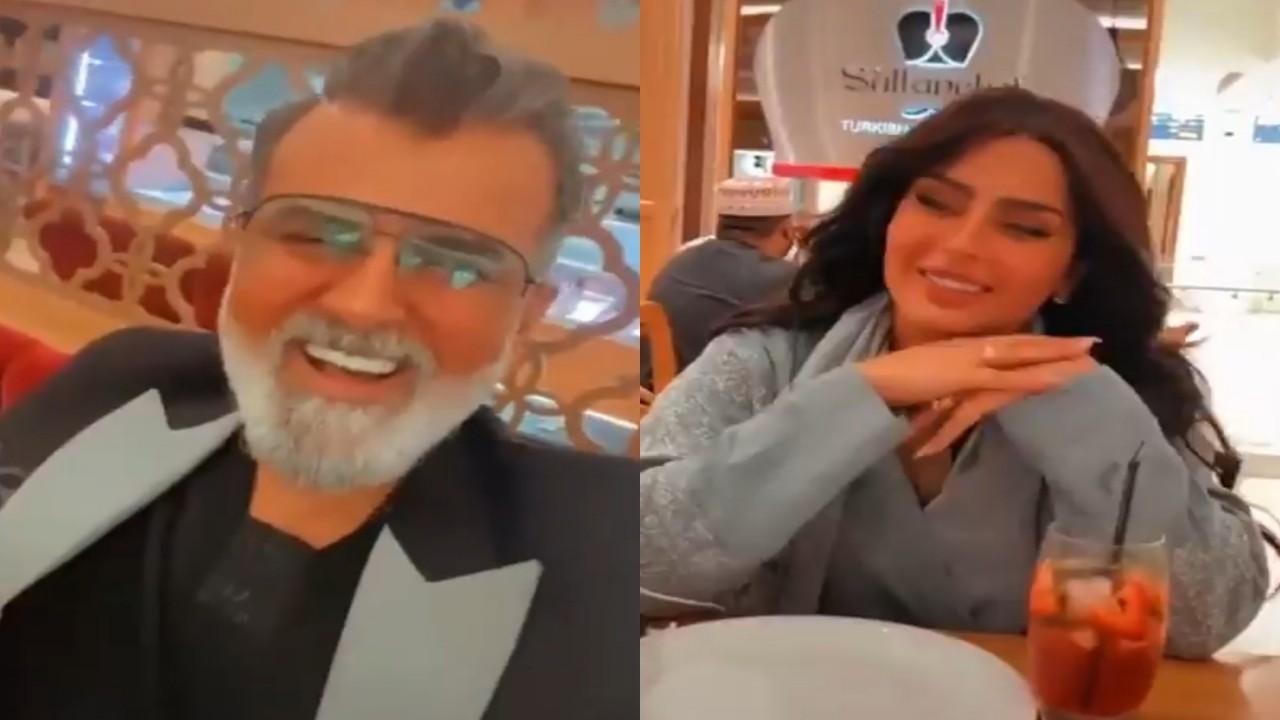 بالفيديو.. سيدة لـ بدور البراهيم وإعلامي لبناني: مشروع زواج