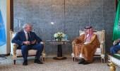 وزير الخارجية يبحث مع نظيره الإيرلندي العلاقات الثنائية بين البلدين