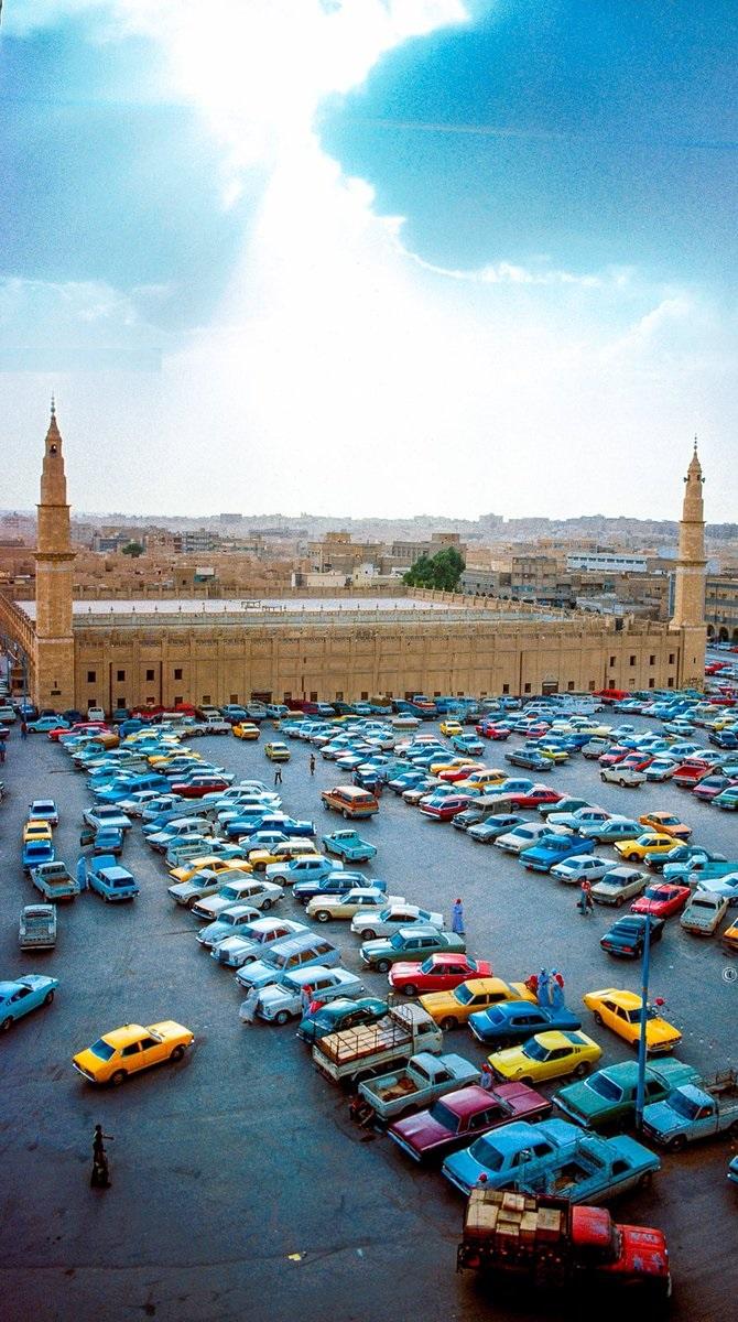 صورة نادرة من الرياض زمن السبعينات الميلادية