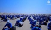 شاهد.. استقبال الطلبة المستجدين من الدورة (82) بكلية الملك عبدالعزيز الحربية