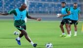 بالصور.. المنتخب الوطني يواصل تدريباته استعدادًا لمواجهة عمان