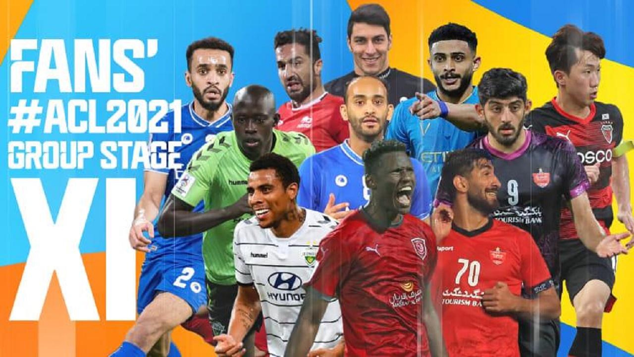 ثنائي الهلال ومدافع النصر بقائمة التشكيل المثالي بدور المجموعات في دوري أبطال آسيا