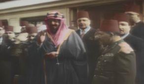 هيئة الإذاعة والتلفزيون تعرض لأول مرة فيلم نادر ملون عن زيارة الملك عبدالعزيز لمصر