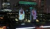 شاهد.. دبي تحتفل باليوم الوطني السعودي 91