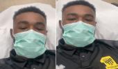 بالفيديو.. مهند الشنقيطي يوجه رسالة للجماهير بعد نقله للمستشفى
