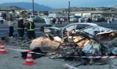 تصادم مركبتين يسفر عن وفيات وإصابات بعسير