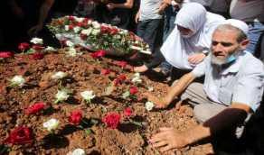 جثمان بوتفليقة يوارى الثرى بحضور الرئيس الجزائري
