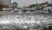 تحذير لمستخدمي طرق مكة بسبب هطول أمطار غزيرة