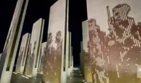 شاهد.. ٣ مهندسيين معماريين يصممون مجسمًا يحاكي العرضة السعودية