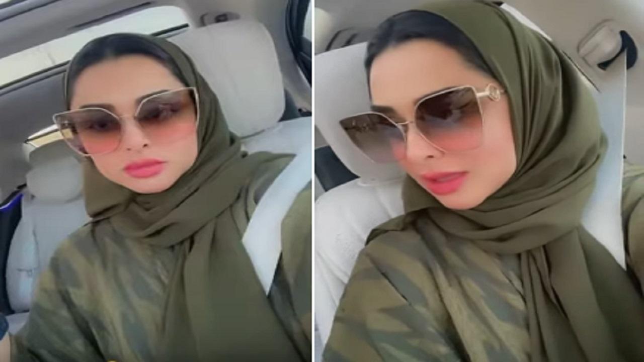 """بالفيديو .. مريم الأنصاري لـ """"زوجها"""" : الأغاني اللي بتشغلها بترفعلي ضغطي"""