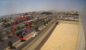فيديو.. لحظة وقوع حادث المدينة المنورة الذي أسفر عن 4 وفيات