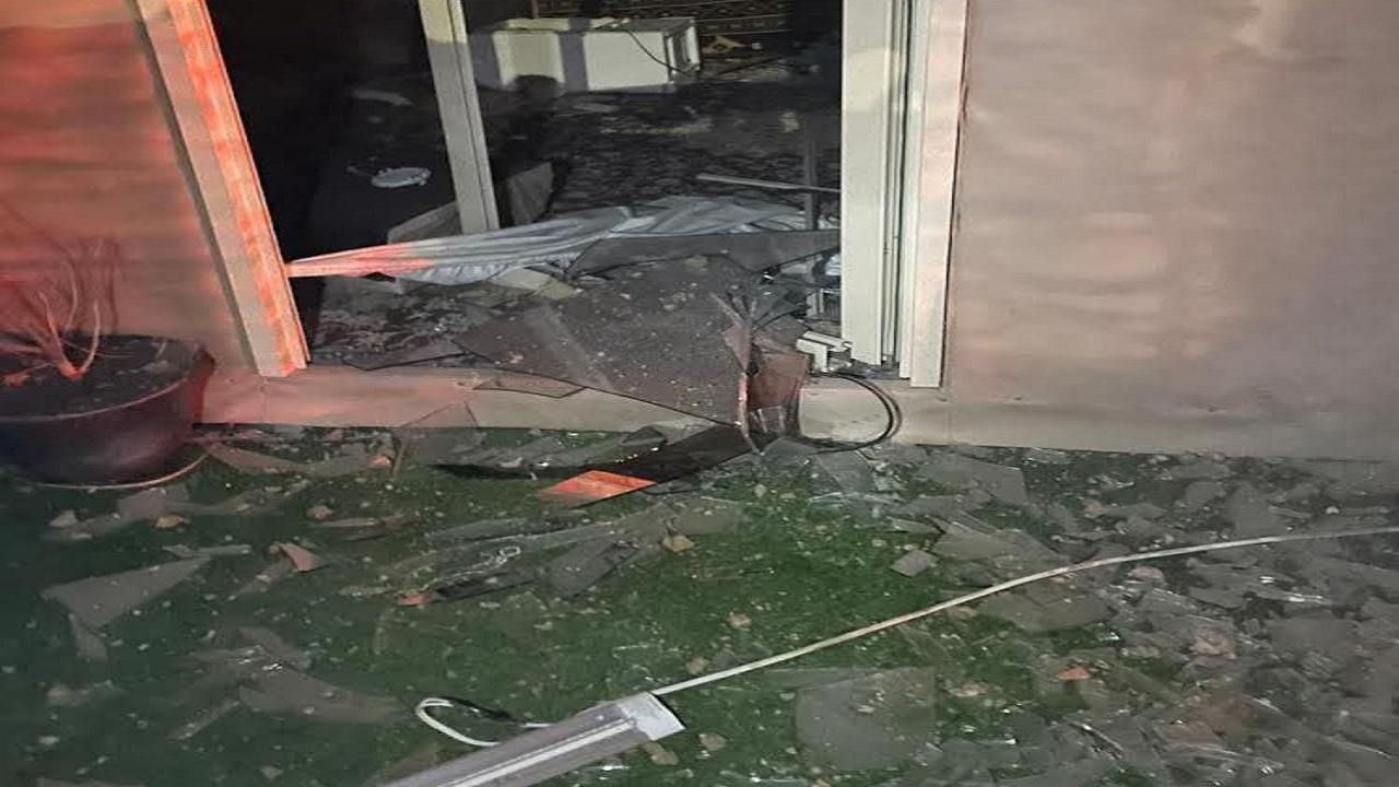 للمنازل المتضررة جراء اعتراض صاروخ