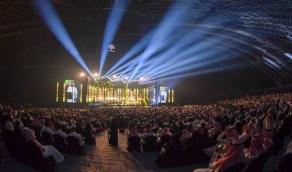 بالفيديو .. لقطات منوعة لحفلات الفنانين من داخل أكبر قبة في العالم بجدة
