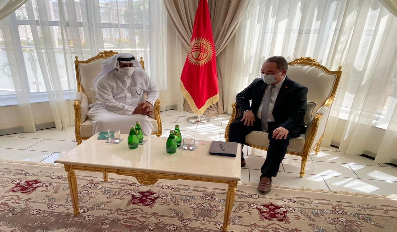"""المندوب """"السعودي"""" لدى التعاون الإسلامي يلتقي نظيره """"القيرغيزي"""""""