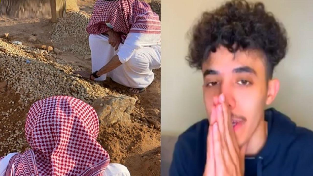 """""""عز بن حجاب"""" يفجع بوفاة والديه وشقيقه في نفس اليوم بالقصيم"""