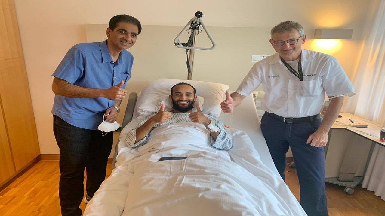 عبدالله عطيف يجري عملية ناجحة في ألمانيا