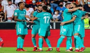 ريال مدريد ينفرد بصدارة الدوري الإسباني بعد الفوز على فالنسيا