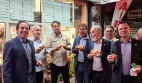 مطعم يرفض دخول الرئيس البرازيلي ويجبره على تناول البيتزا في الشارع