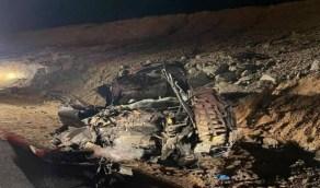 حادث تصادم ينهي حياة شخص ويصيب آخر في الباحة