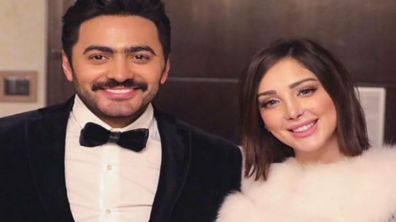 أنباء عن طلاق تامر حسني وزواجه من فنانة سرًا