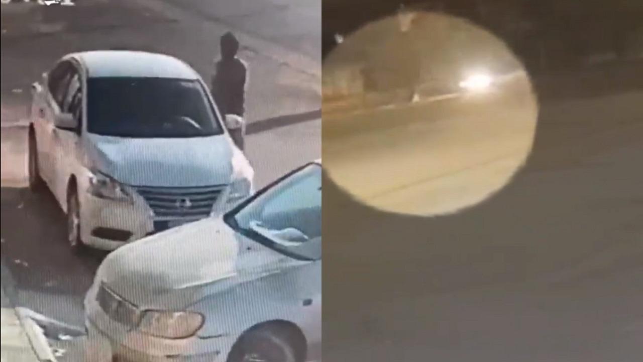 بالفيديو.. الإطاحة بمواطن دهس فتاتين في القصيم