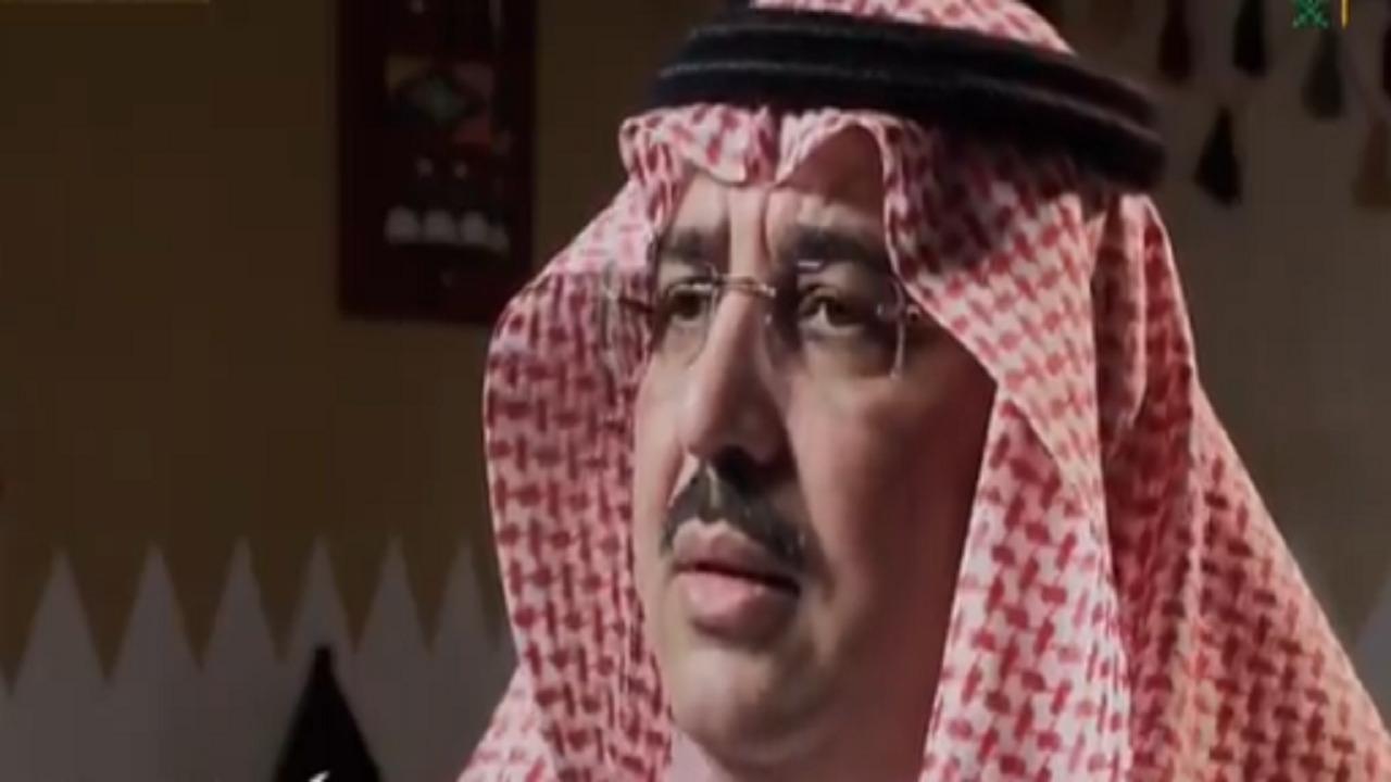 """بالفيديو .. حفيد """"النشمي"""" يكشف وصية الملك سعود لجده عندما توجه لإمارة نجران"""