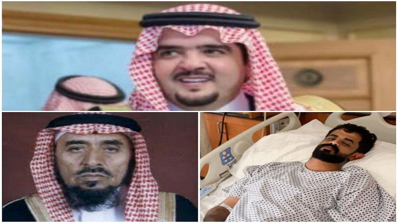 الأمير عبدالعزيز بن فهد يرافق مصابًا في حادث دهس للمستشفى ويتكفل بعلاجه