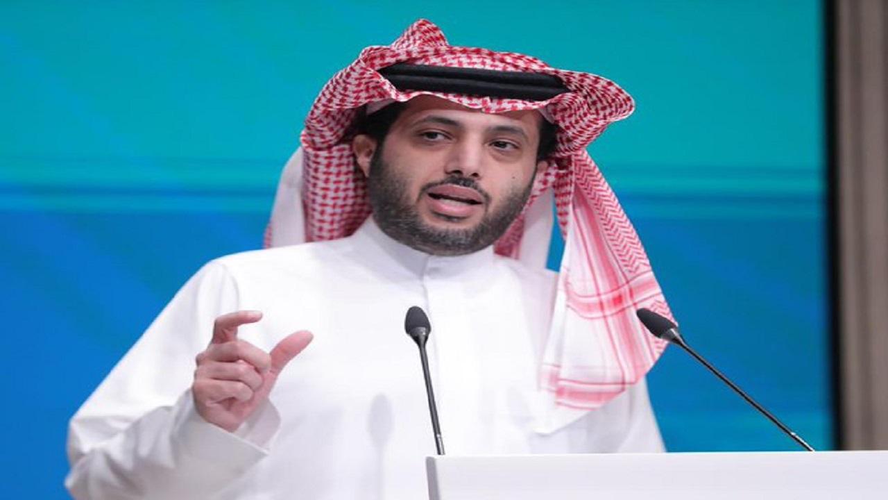 """بالفيديو .. """"آل الشيخ"""" يعلن بدء حجز التذاكر بعرض WWE بموسم الرياض"""