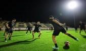 مدرب الاتحاد يضع اللمسات الأخيرة لفريقه قبل مباراة الشباب