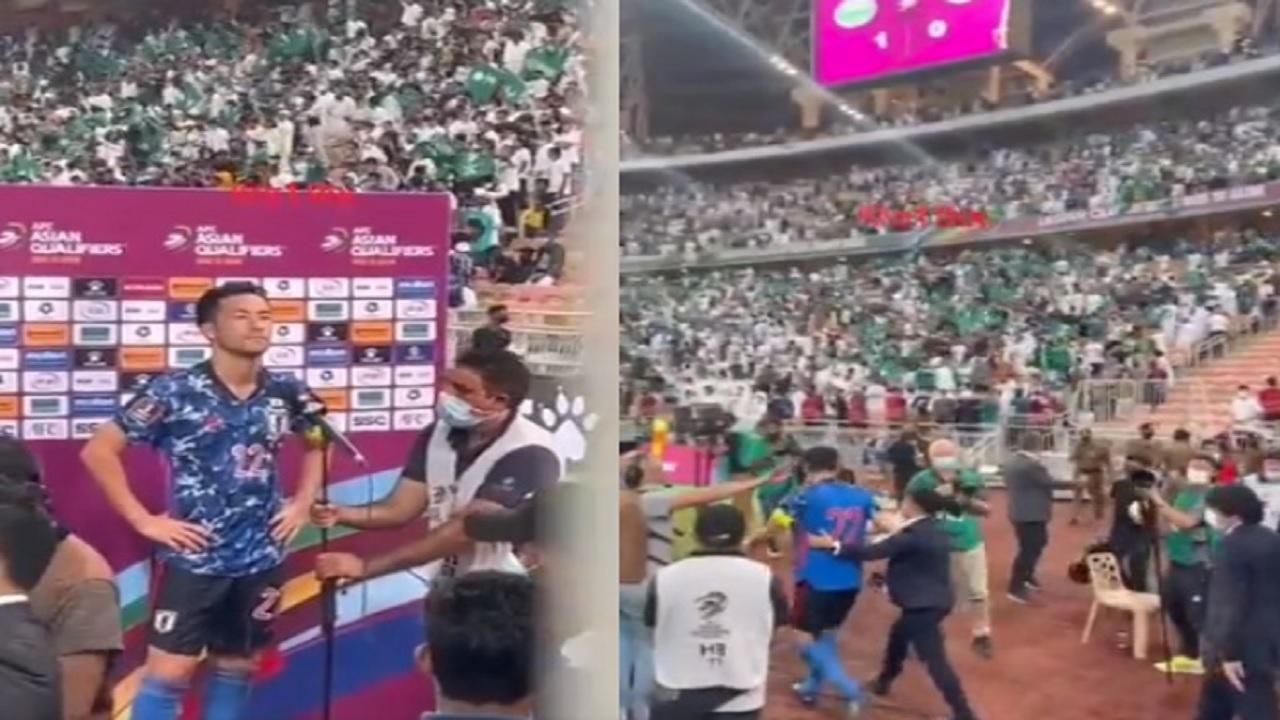 حملة اعتذار من الجماهير السعودية بعد فيديو قائد المنتخب الياباني