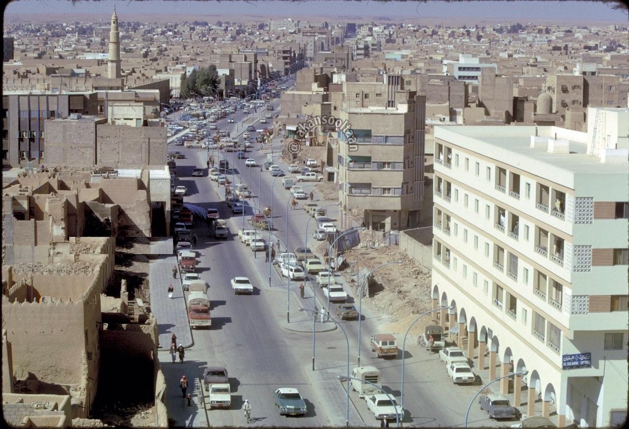 أحد صباحات الرياض شتاءً منتصف السبعينات الميلادية