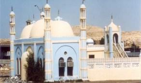 صورة قديمة لمسجد لؤلؤ بمدينة الظهران