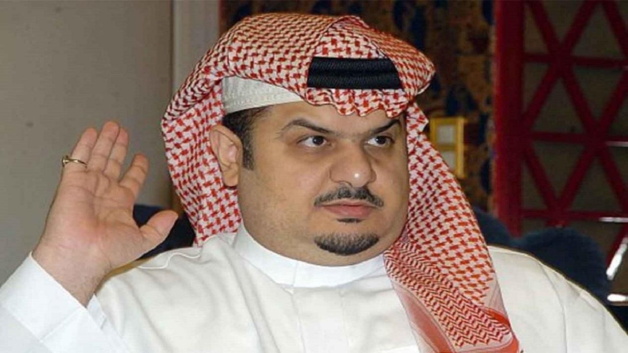 عبدالرحمن بن مساعد يروي موقفاً طريفاً جمعه بالفنان طلال مداح
