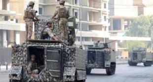 الجيش اللبناني يواصل ملاحقة مطلقي النار ويوقف 9 متورطين