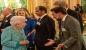 بالفيديو.. ياسر الرميان يخوض حديث ودي مع ملكة بريطانيا