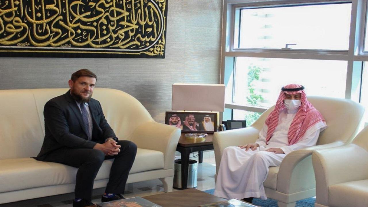 سفير المملكة لدى الاردن يستقبل السفير البولندي