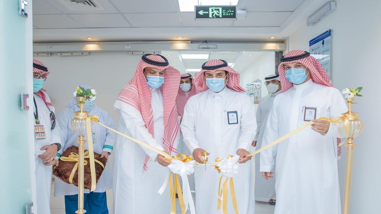 الصافي يفتتح قسم رعاية المسنين بمستشفى الملك خالد ويشارك في فعاليات اليوم العالمي للصحة النفسية