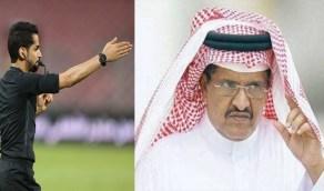 جستنيه: فيصل البلوي لا يفرض عضلاته إلا في مباريات الاتحاد