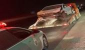 بالفيديو.. ضبط سائق اعترض مركبة بطريقة متهورة على طريق سريع بالرياض
