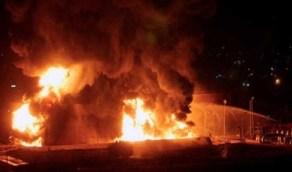 مقتل 7 أشخاص إثر حريق في مصنع لإنتاج المتفجرات وسط روسيا