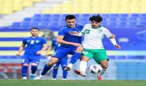 بالفيديو والصور.. التعادل الإيجابي يحسم مواجهة المنتخب الأولمبي السعودي والأوزبكي