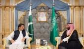 """رئيس وزراء باكستان يوجه رسالة لـ """"ولي العهد"""""""