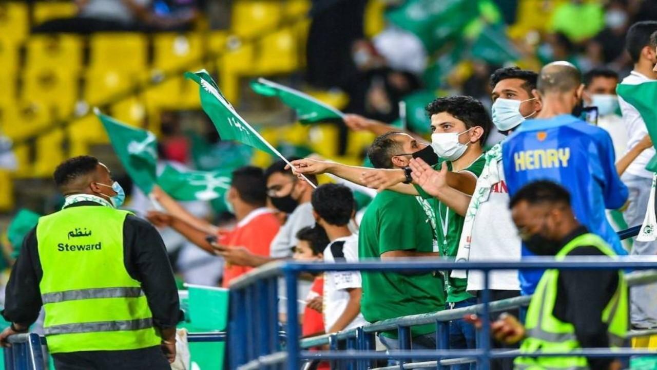 نفاد تذاكر مباراة الأخضر والصين