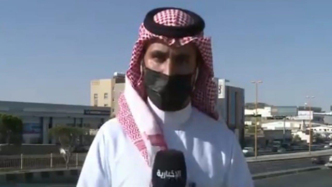 شاهد.. تأثير التهديد الفاشل للطائرة المسيرة التي أطلقها الحوثيين على أهالي خميس مشيط