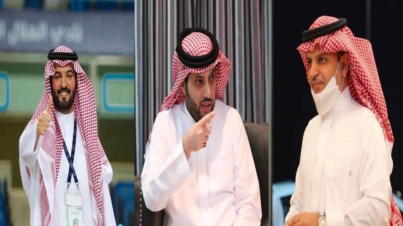 آل الشيخ لرئيسي الهلال والنصر: قريبًا سنجتمع