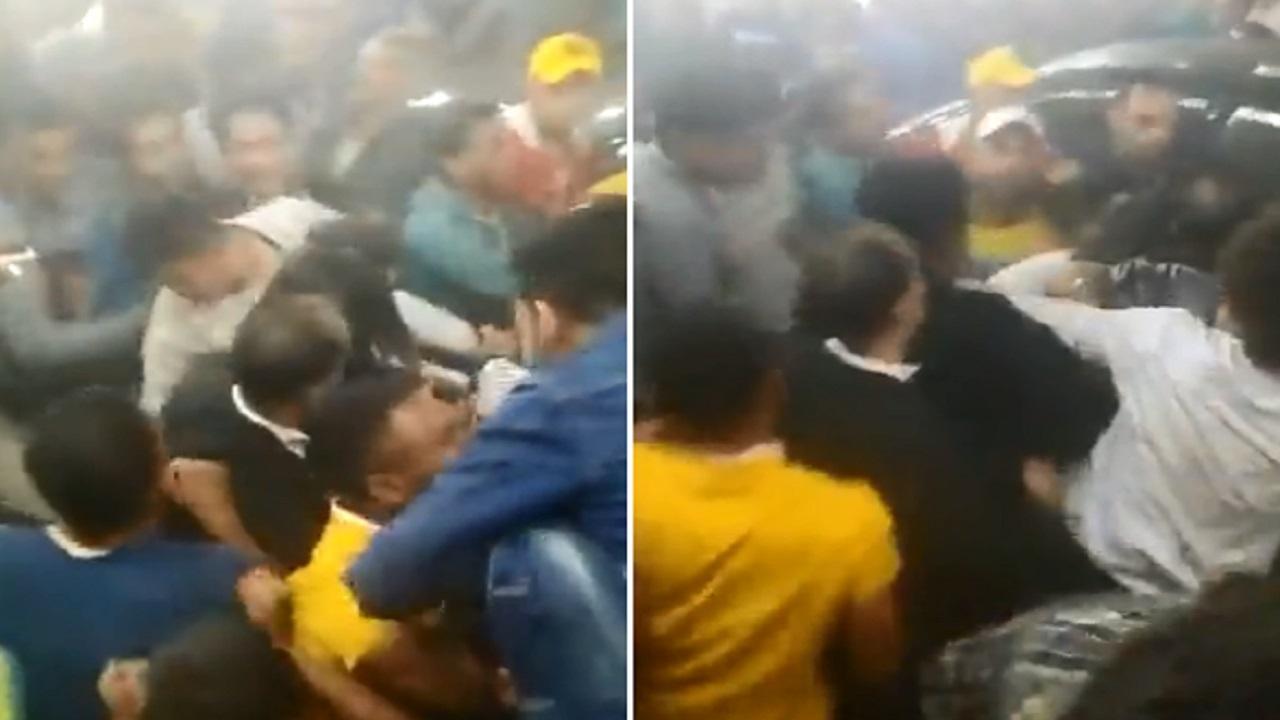 بالفيديو .. تحرش جماعي بفتاة في مصر